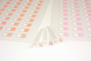 Microdialysis Sample Vial Labels