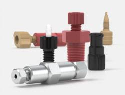 IDEX Chromatography Connectors Threaded Adapters
