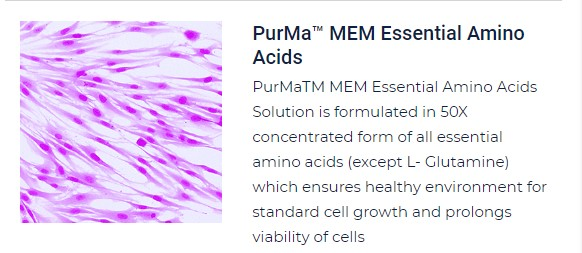 PurMa Tissue Culture Reagents Essential Amino Acids