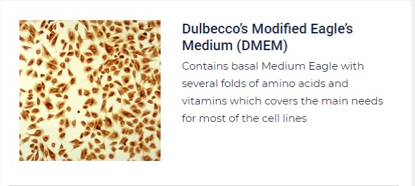 PurMa Tissue Culture Reagents Dulbecco's Modified Eagle's Medium