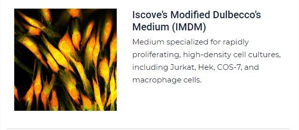 PurMa Tissue Culture Reagents Iscove's Modified Dulbecco's Medium