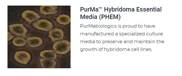 PurMa Tissue Culture Reagents Hybridoma Essential Media