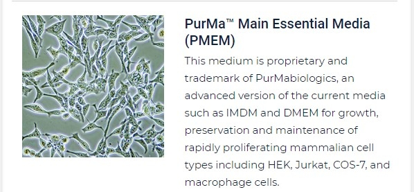 PurMa Tissue Culture Reagents Main Essential Media