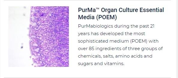 PurMa Tissue Culture Reagents Organ Culture Essential Media