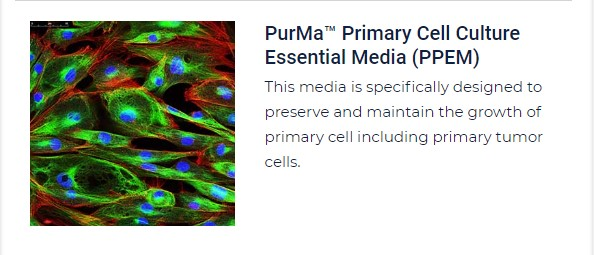 PurMa Tissue Culture Reagents Primary Cell Culture Essential Media