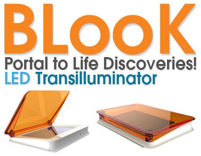 SImply Biologics BLooK Blue Light LED Trasnilluminator