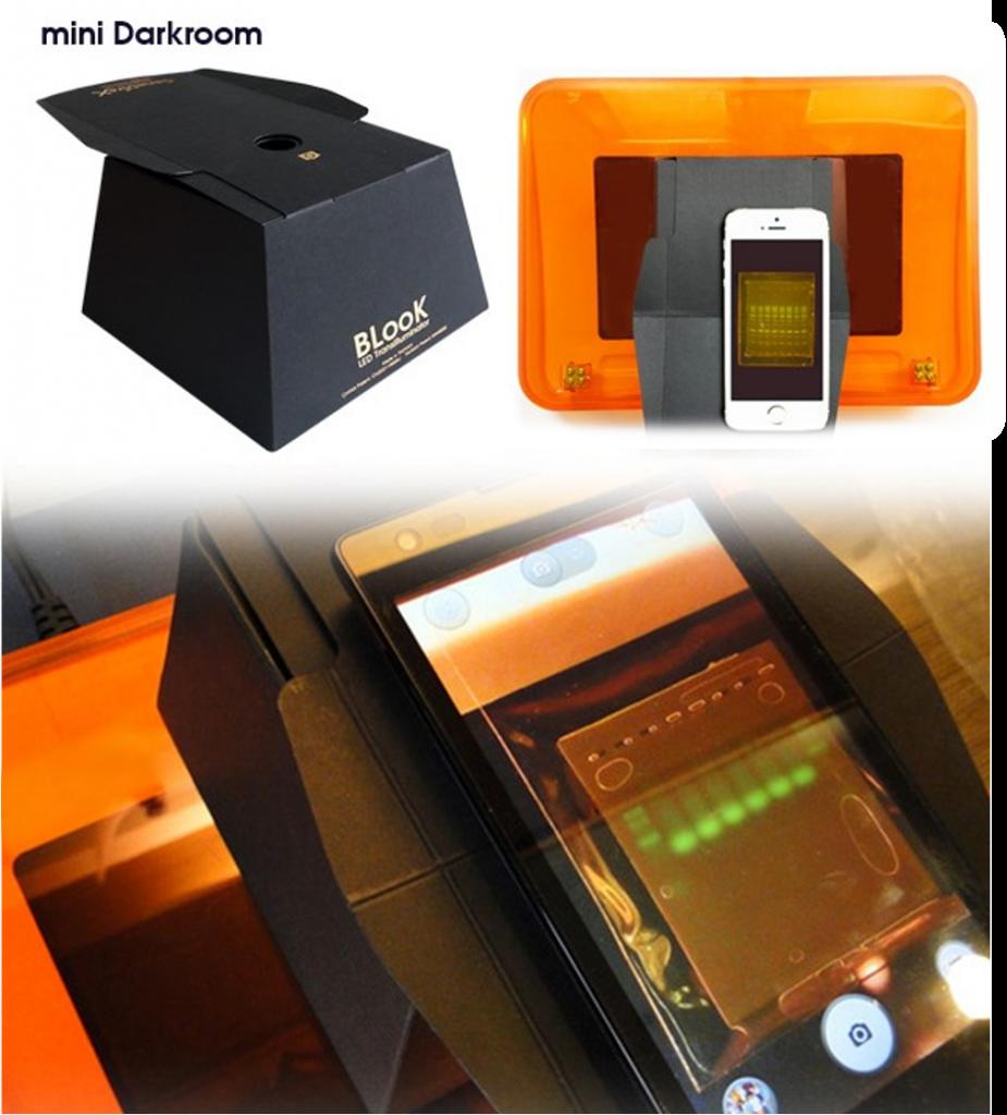 Simply Biologics Mini Darkroom for BLook LED Transilluminator