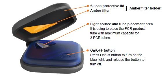Simply Biologics pBLook Blue LIght LED Transilluminator