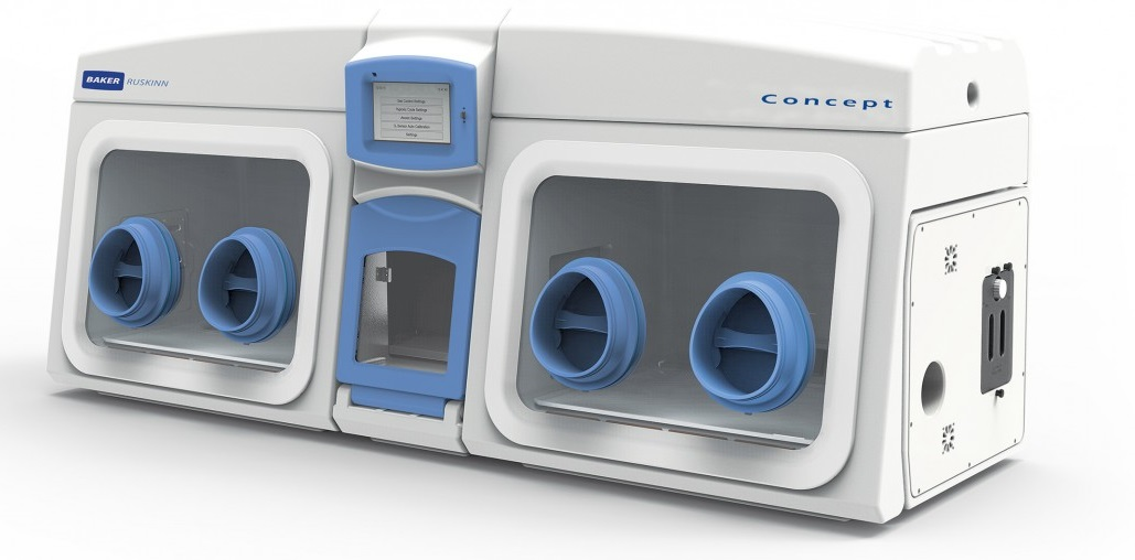 Baker Ruskinn Concept 1000 Dual Chamber Anaerobic Workstation