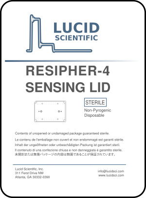Lucid Resipher 4 Sensing Lid Data Sheet Cover Page
