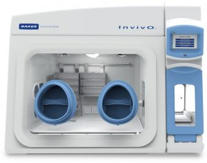 Baker InvivO2 I400 Standard Hypoxia Incubated Workstation Chamber with Shelving