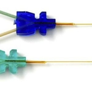 Microdialysis Probes Blue and Green Samples