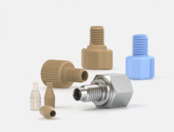 IDEX Coned Fittings Two Piece FingerTight