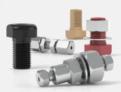 IDEX High Pressure Multiport Connectors BulkHead Unions