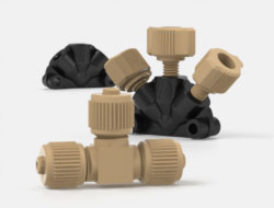 IDEX High Pressure Multiport Connectors Mixing Tees
