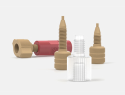 IDEX Connectors Metric Threaded Adapters