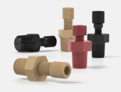 IDEX Connectors National Pipe Threaded Adapters