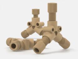 IDEX Low Pressure Multiport Connectors Y Connectors