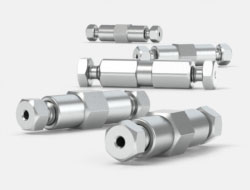 IDEX Ultra High Pressure Multiport Connectors Stainless Steel ZDV Unions