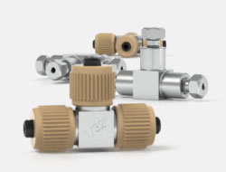 IDEX Ultra High Pressure Multiport Connectors VHP Tees and Crosses