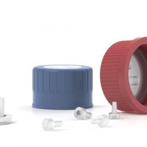 IDEX Fluidics Bottle Caps and Plugs